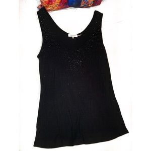 Calvin Klein Sparkle Ribbed Tank Top Size-Large